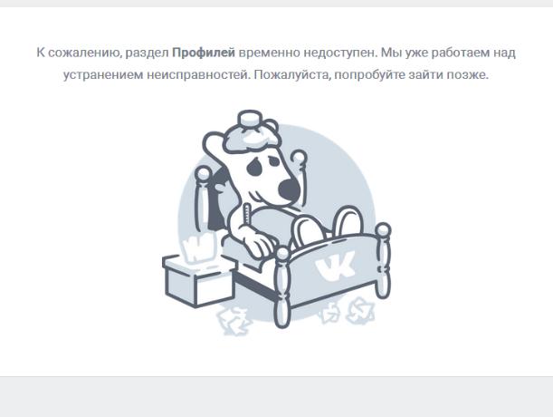 Сбой в социальной сети «ВКонтакте» заставил ростовчан паниковать