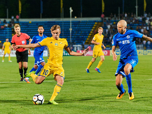 УЕФА представил символическую сборную молодых русских футболистов