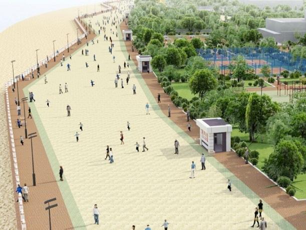 Огромный бульвар с пляжем решили построить на левом берегу Дона в Ростове