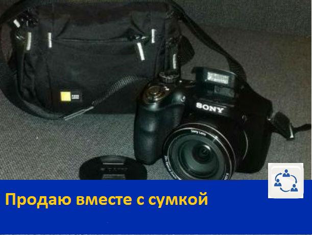 Продается фотоаппарат сони