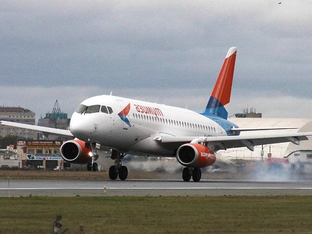 Пассажирский самолет не долетел до ростовского аэропорта из Сочи