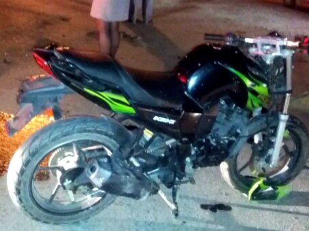 Вночном ДТП вТаганроге достаточно серьезно  пострадал мотоциклист