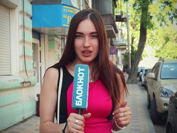 Шокированная стоимостью бензина Настя узнала мнение недовольных ростовчан