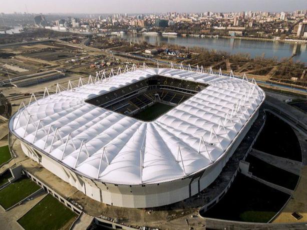 1-ый тестовый матч настадионе «Ростов-Арена» смогут посетить 13 тыс. болельщиков