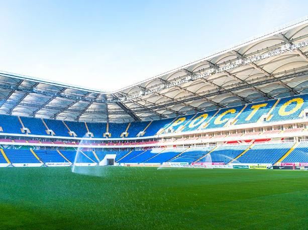 Готовую принимать болельщиков «Ростов-Арену» официально откроют через месяц