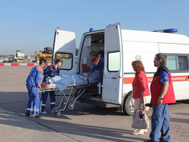 В самолете над Ростовом умерла 53-летняя женщина от инфаркта