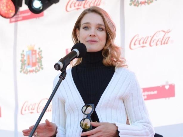 Супермодель Наталья Водянова приняла участие в открытии парка для особенных детей Ростова