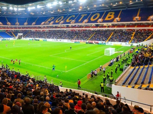 Игры, конкурсы и угощения ждут болельщиков перед матчем на стадионе «Ростов-арена»