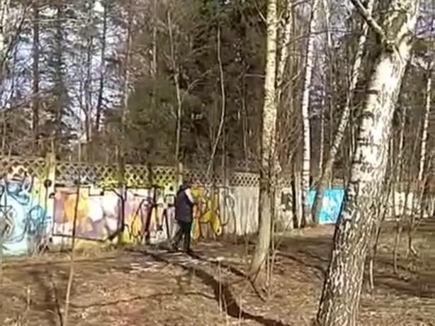 Скользящая лыжами по грязной земле пенсионерка вызвала дикий хохот у жителей Ростовской области