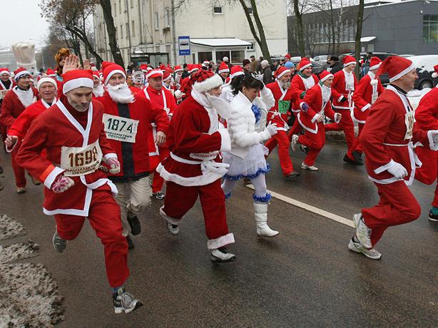 1 января, после бурного новогоднего празднования, в Ростове-на-Дону пройдет традиционный забег