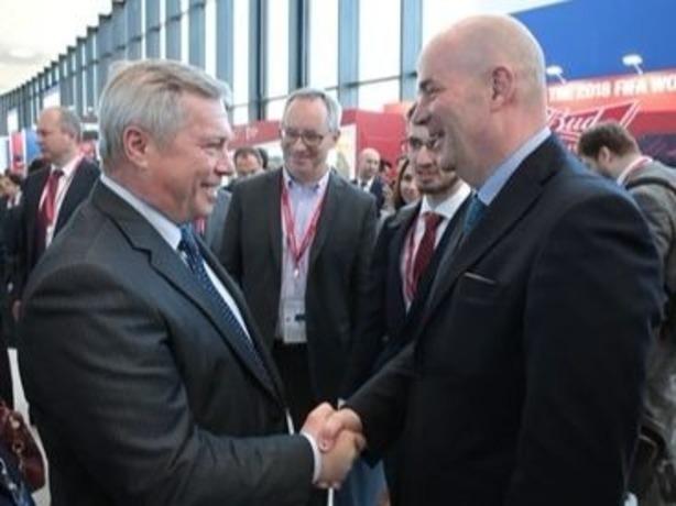 Губернатор Ростовской области подпишет соглашения на ПМЭФ на 12 млрд рублей