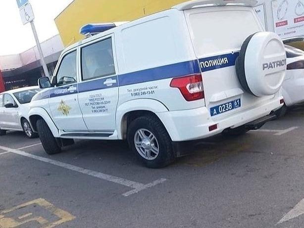 Полицейский «бобик» признал себя ростовским инвалидом