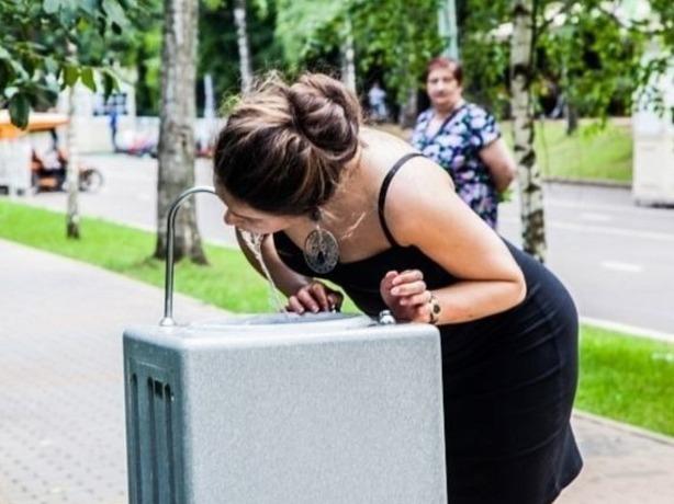 Установить в парках фонтаны с питьевой водой требует измученный жарой активист из Ростова