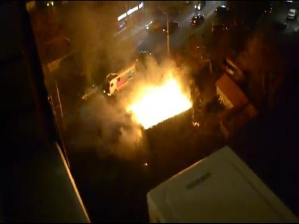 В Ростове варилась адская каша в горящем и искрометном котле