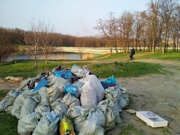 Более 54 тысяч отзывчивых жителей избавили Ростов от тонн мусора и смрада
