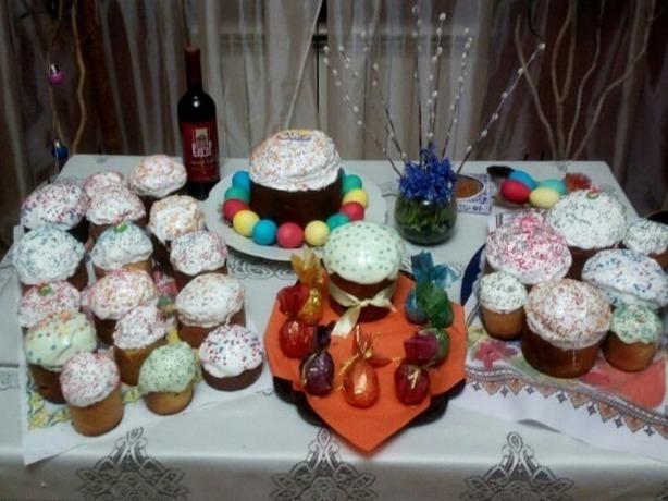 Ростовчане похвалились своими крутыми яйцами и куличами
