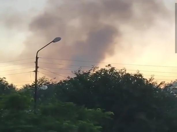 В Ростове сгорел жилой дом