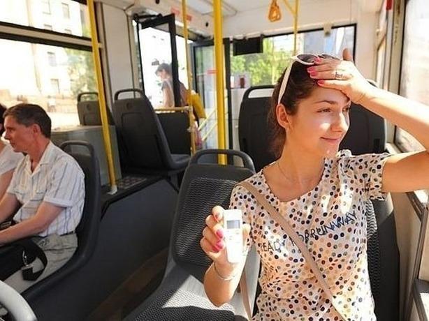 Где в Ростове найти общественный транспорт с кондиционерами?