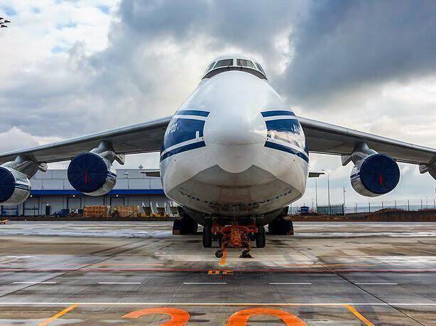 В международном аэропорту Ростова «Платов» приземлился первый Ан-124-100 «Руслан»