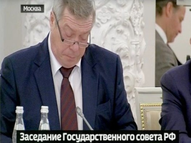 Губернатор Ростовской области принял участие в Госсовете под председательством Путина