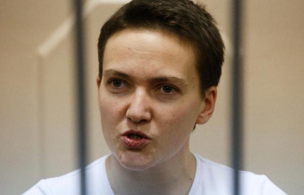 Наводчица Надежда Савченко утверждает, что помилование спасло ее от задуманного самоубийства