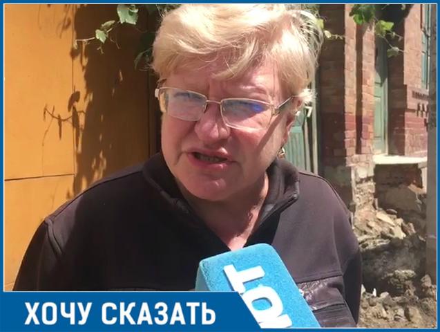 Бездарные строители испортили мне жизнь, - ростовчанка со Станиславского