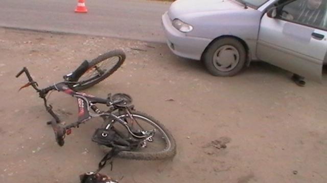 В  Ростове сбили школьника на велосипеде