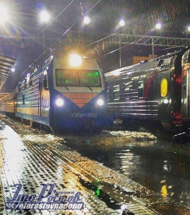 Из-за непогоды в Ростове-на-Дону задерживается девять поездов