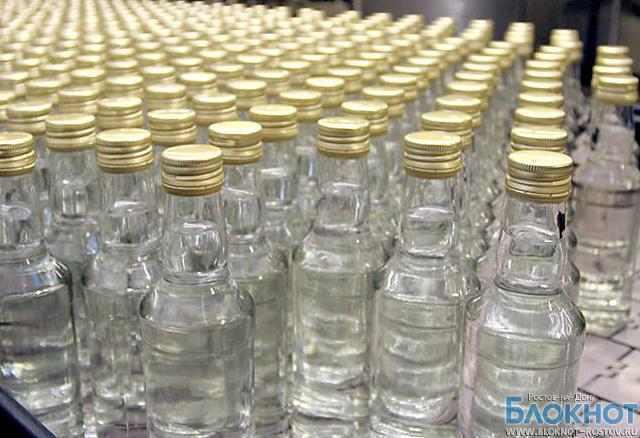 В Ростовской области задержали контрафактную водку
