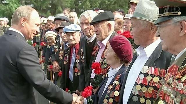 71-я годовщина окончания 2-ой мировой войны