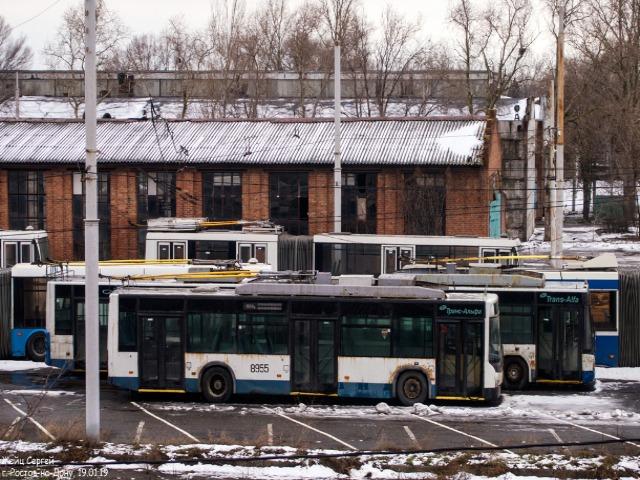 Подаренные Москвой троллейбусы выйдут на улицы Ростова через 3-4 месяца