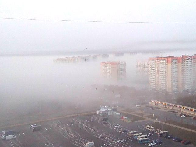 Ростов «утонул» в мистическом тумане