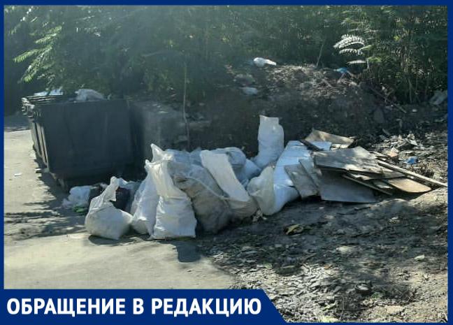 «Власти нереагируют нанаши обращения»: ростовчане омусоре наулице Станиславского