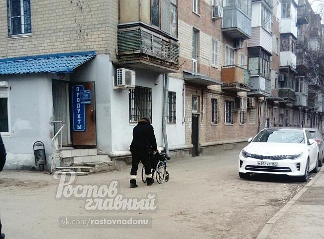 В Ростове прикованный к коляске инвалид исцелился за секунду