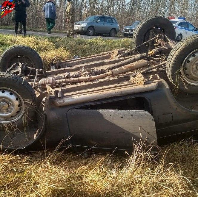 Житель Ростовской области вылетел на «Ниве» в кювет и погиб