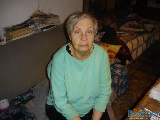 В Таганроге в квартире 76-летней пенсионерки 10 месяцев нет воды