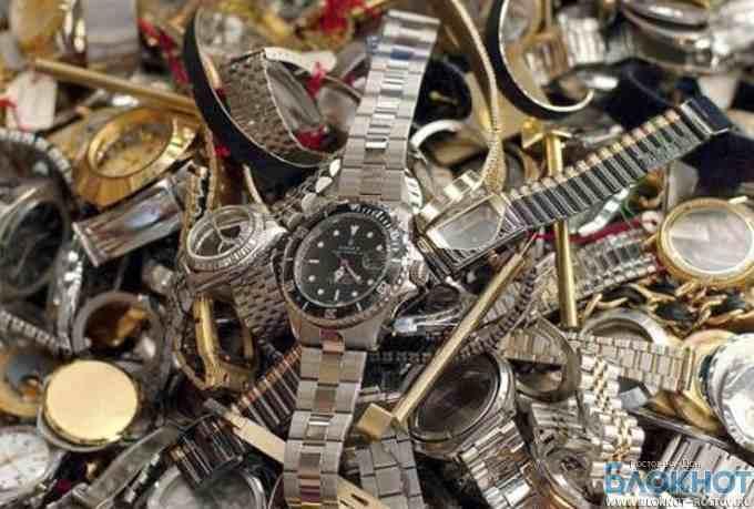 В Ростовской области изъяли поддельные часы на 18 млн