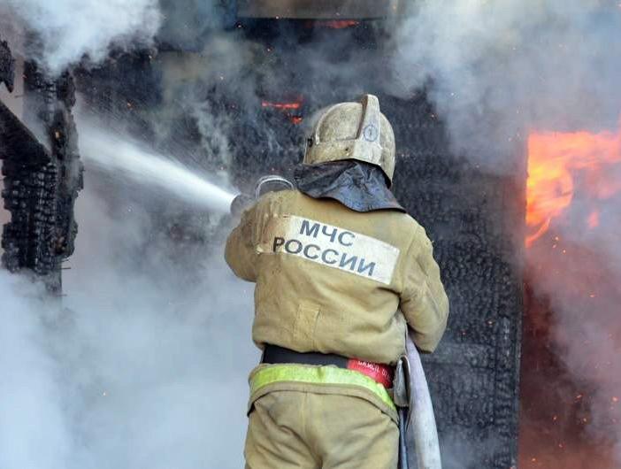 ВСоветском районе Ростова сгорела баня