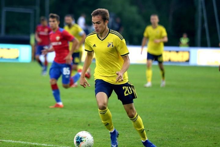 «Ростов» подписал контракт смолодым полузащитником изБеларуси