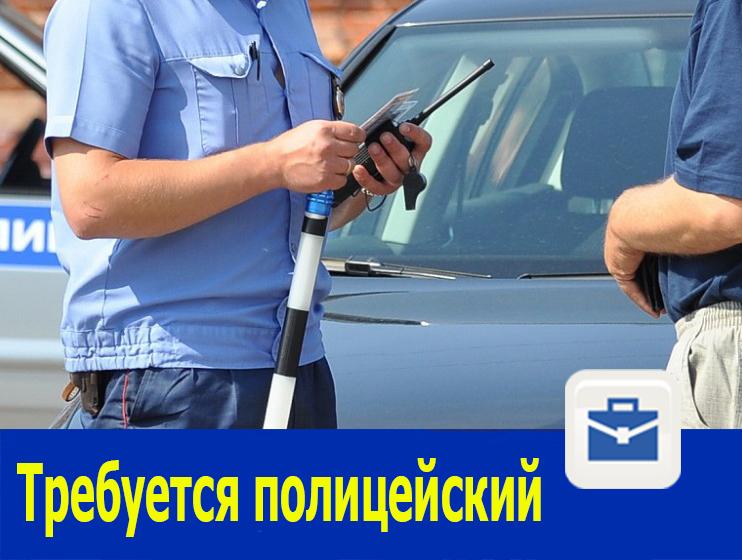 Старший полицейский, полицейский водитель требуется в Ростовской области