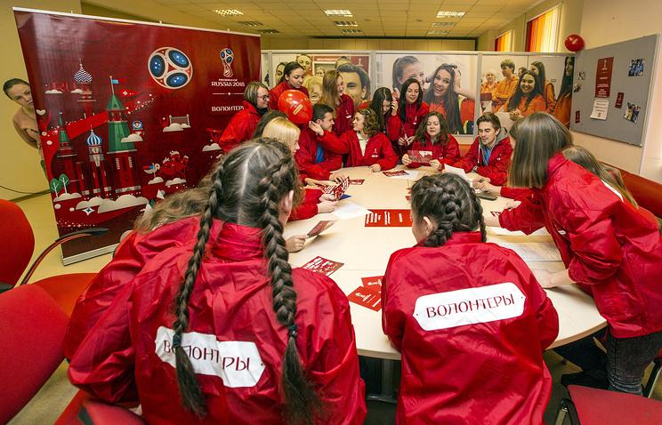 Ростов вошел впятерку лидеров почислу волонтеров наЧМ