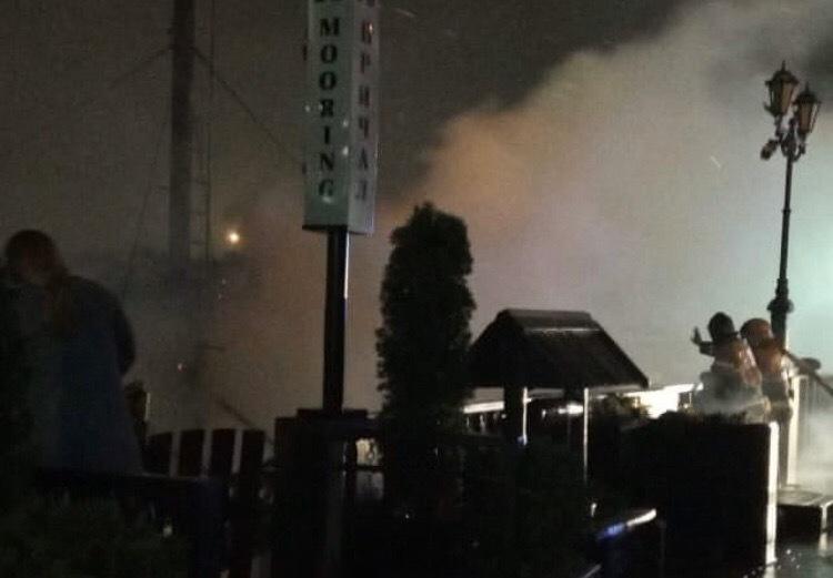 ВРостове нанабережной сгорел ресторан