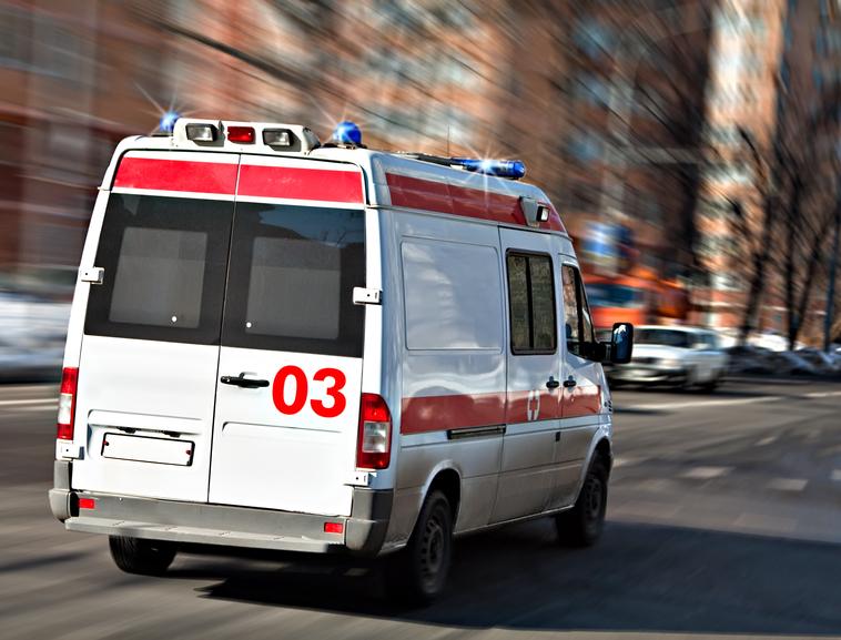 ВРостовской области угнали машину скорой помощи