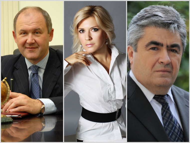 Лица власти: Владимир Черкезов, Ирина Даньшина,Игорь Пятигорец
