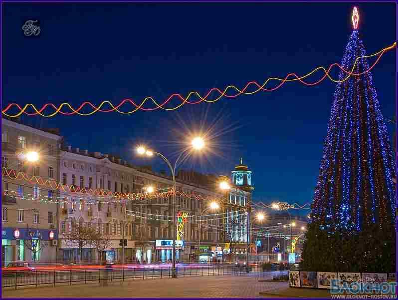 Главная новогодняя елка Ростова откроется 21 декабря