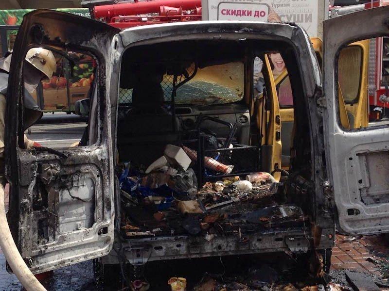 Утро начинается нескофе: вРостове сгорела мобильная кофейня