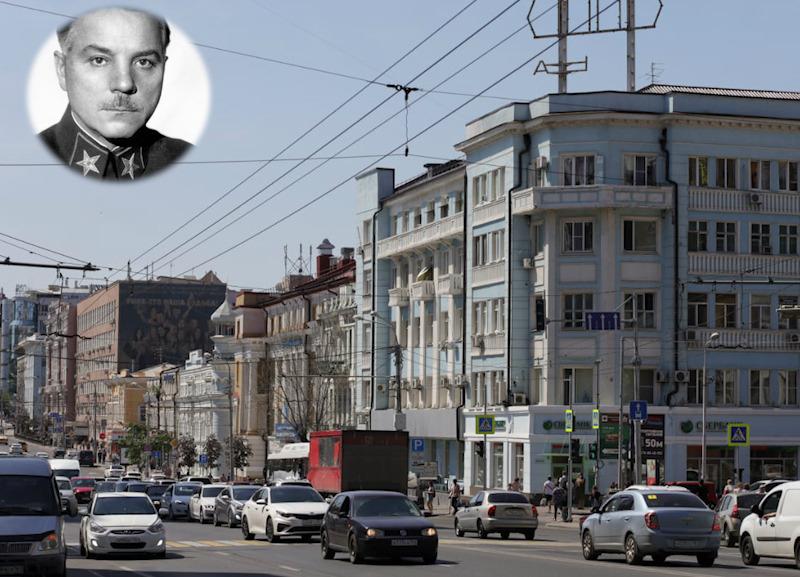 Имя на карте Ростова: Климент Ефремович Ворошилов