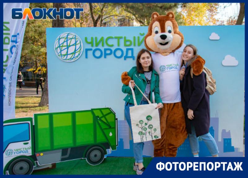 В Ростове прошла благотворительная акция по сбору вторсырья «Добрый сбор!»