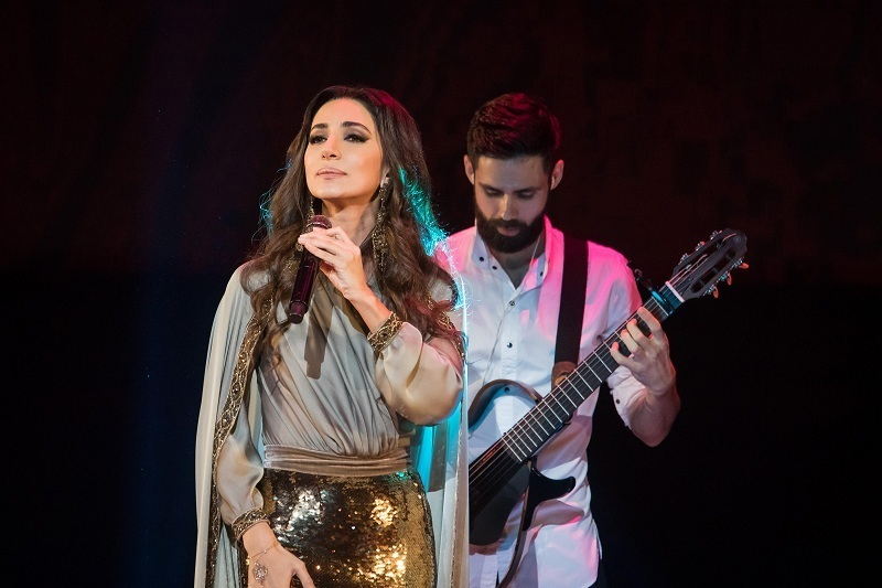 В рамках года культуры России в Катаре состоялся концерт Зары