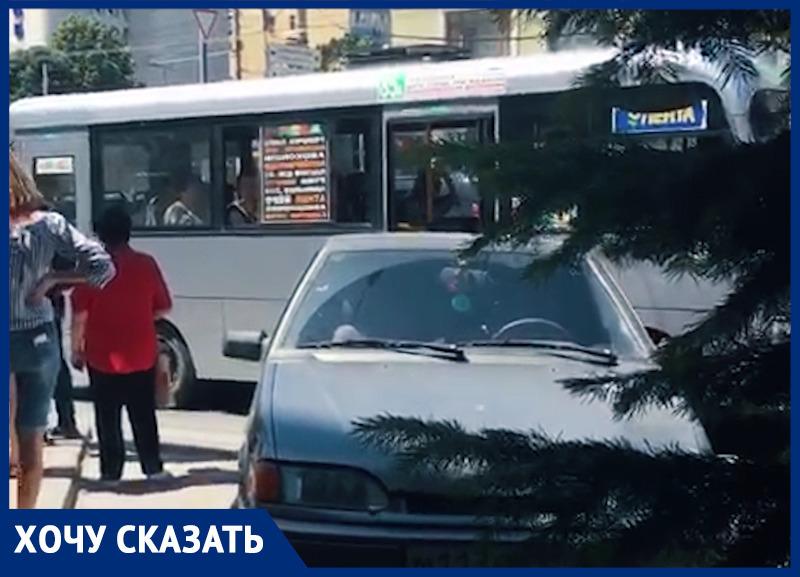 Раз и навсегда определить место остановки на Ворошиловском-Красноармейской потребовала ростовчанка